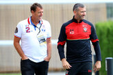 Last chance to join ex-Saints for Foxes clash