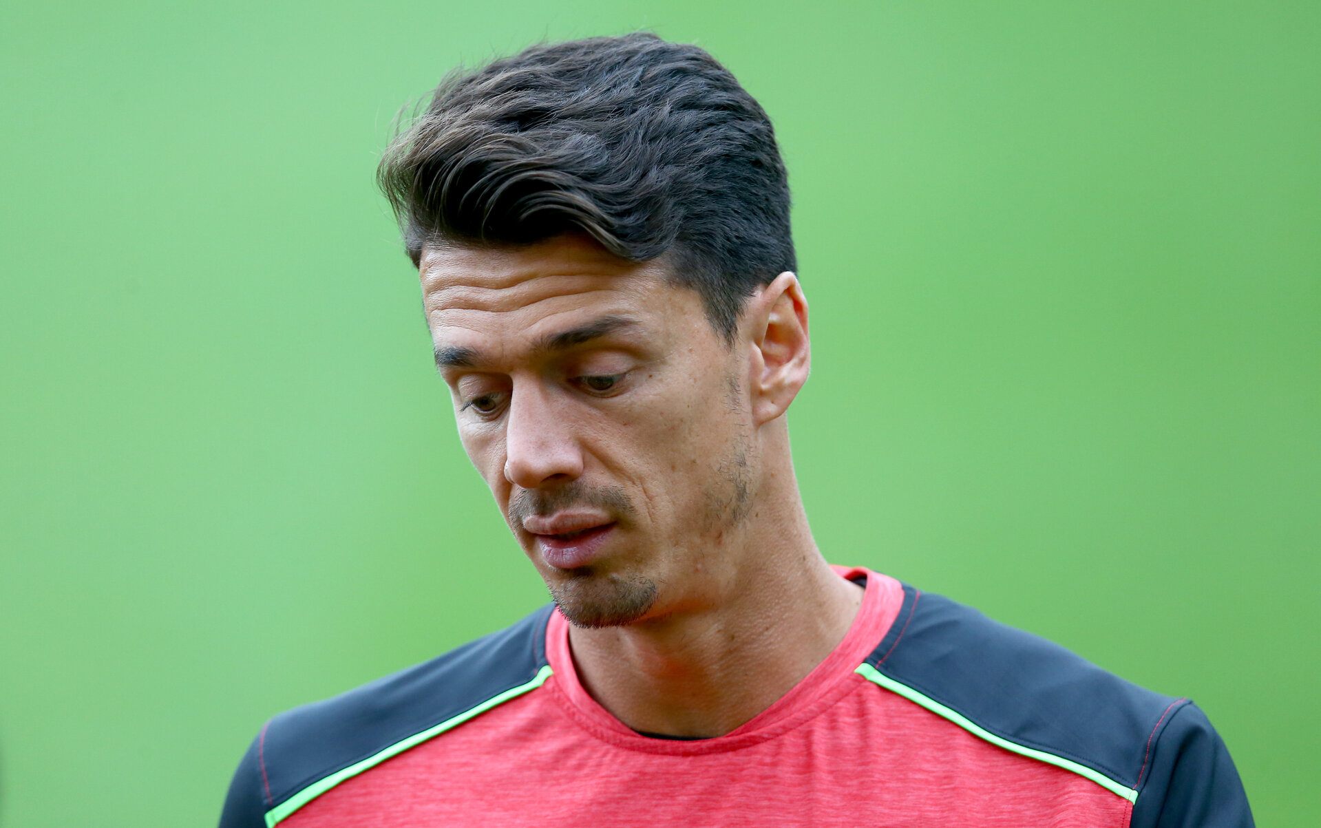 Jose Fonte during a Southampton FC training session at the Staplewood Campus, Southampton, 20th September 2016
