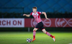 will wood during Southampton FC U23 v Bristol City U23 in the premier league cup, at Staplewood, Southampton, 30th September  2016, pic by Naomi Baker/Southampton FC