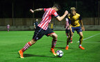 harley wilard during Southampton FC U23 v Bristol City U23 in the premier league cup, at Staplewood, Southampton, 30th September  2016, pic by Naomi Baker/Southampton FC