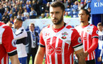 Charlie Austin during the Premier League match between Leicester City and Southampton at the King Power Stadium, Leicester, England on 2 October 2016. Photo by Matt  Watson/SFC/Digital South.