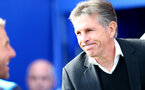 Claude Puel during the Premier League match between Leicester City and Southampton at the King Power Stadium, Leicester, England on 2 October 2016. Photo by Matt  Watson/SFC/Digital South.