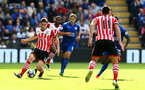 Pierre-Emile Hojbjerg during the Premier League match between Leicester City and Southampton at the King Power Stadium, Leicester, England on 2 October 2016. Photo by Matt  Watson/SFC/Digital South.