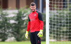 Fraser Forster during a Southampton FC training session at the Staplewood Campus, Southampton, 28th October 2016