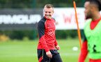 Jordy Clasie during a Southampton FC training session at the Staplewood Campus, Southampton, 28th October 2016