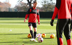 Josh Sims during a Southampton FC training session at the Staplewood Campus, Southampton, 29th November 2016
