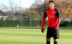Jose Fonte during a Southampton FC training session at the Staplewood Campus, Southampton, 29th November 2016