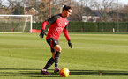 Cedric during a Southampton FC training session at the Staplewood Campus, Southampton, 29th November 2016