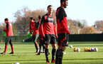 Shane Long during a Southampton FC training session at the Staplewood Campus, Southampton, 29th November 2016