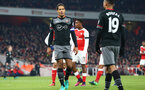 Virgil Van Dijk during the EFL Cup match between Arsenal and Southampton at the Emirates Stadium, London, England on 30 November 2016. Photo by Matt  Watson/SFC/Digital South.