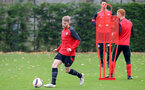 Josh Sims during a Southampton FC training session at The Staplewood Campus, 7th December 2016