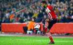 Ryan Bertrand during the UEFA Europa League match between Southampton and Hapoel Be'er Sheva F.C. at St Mary's Stadium, Southampton, England on 8 December 2016. Photo by Matt Watson/SFC/Digital South.