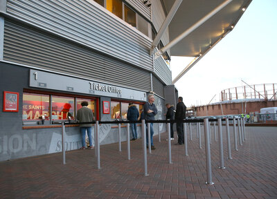 Ticket Office closed today