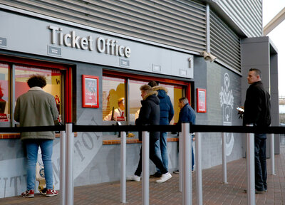 Revised opening hours for Ticket Office and Stadium Store
