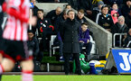 Claude Puel during the Premier League match between Swansea City and Southampton at the Liberty Stadium, Swansea, Wales on 31 January 2017. Photo by Matt Watson/SFC/Digital South.