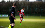yan valery during the Premier League Cup match between Newcastle U23 and Southampton U23 at Whitley Park, Newcastle, England on 28 February 2017. Photo by Naomi Baker/SFC/Digital South.