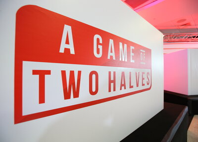 A Game Of Two Halves tickets on sale