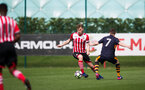 aaron o'driscoll during the U18 match between Southampton FC U18 v Newcastle U18, at Staplewood, Southampton, 1st April 2017, pic by Naomi Baker