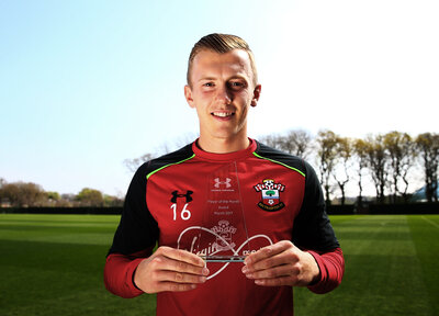 Video: Ward-Prowse on Player of the Month award