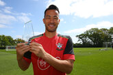 Video: Yoshida wins Player of the Month