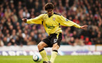 LONDON, ENGLAND - APRIL 23:  Mauricio Pellegrino of Liverpool in action during the Barclays Premiership match between Crystal Palace v Liverpool at Selhurst Park on April 23, 2005 in London, England.  (Photo by Ian Walton/Getty Images)