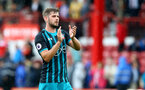 Jack Stephens during the pre-season friendly between Brentford FC(red/white) and Southampton FC(black), at Griffin Park Stadium, Brentford, London, 22nd July 2017