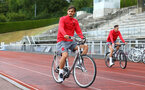 Manolo Gabbiadini during a Southampton FC pre-season training session, in Evian, France, 25th July 2017