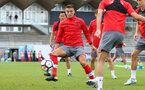Dusan Tadic during a Southampton FC pre-season training session, in Evian, France, 28th July 2017