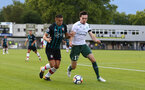 Dusan Tadic during a pre season friendly between St Etienne(white) and Southampton FC(black), at The Stade Municipal de Chambéry, France, 29th July 2017
