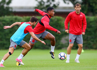 Gallery: Lemina's first training session
