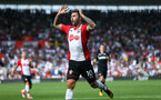 Charlie Austin rues his miss. Southampton v Swansea City, Premier League, St Mary's Stadium.         Picture: Chris Moorhouse 07932 522561