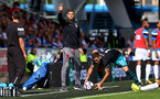 HUDDERSFIELD, ENGLAND - AUGUST 26: Southampton manager Mauricio Pellegrino during the Premier League match between Huddersfield Town and Southampton at the John Smith Stadium on August 26, 2017 in Huddersfield, England. (Photo by Matt Watson/Southampton FC via Getty Images)