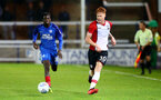 Will Wood during the Check a Trade Trophy group stage match between Peterborough United and Southampton FC U21, at ABAX Stadium, Peterborough, 29th August 2017