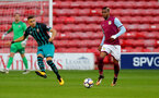 WALSALL, ENGLAND - SEPTEMBER 11: Jan Bednarek during the Premier League 2 match between Aston Villa and Southampton, at Banks' Stadium on September 11, 2017 in Walsall, England. (Photo by Matt Watson/Southampton FC via Getty Images)