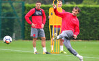 SOUTHAMPTON, ENGLAND - SEPTEMBER 21: Manolo Gabbiadini during a Southampton FC training session at the Staplewood Campus on September 21, 2017 in Southampton, England. (Photo by Matt Watson/Southampton FC via Getty Images)