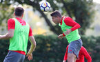 SOUTHAMPTON, ENGLAND - SEPTEMBER 28: Jeremy Pied during a Southampton FC training session at the Staplewood Campus on September 28, 2017 in Southampton, England. (Photo by Matt Watson/Southampton FC via Getty Images)