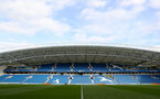 BRIGHTON, ENGLAND - OCTOBER 29: General view ahead of the Premier League match between Brighton and Hove Albion and Southampton at the Amex Stadium on October 29, 2017 in Brighton, England. (Photo by Matt Watson/Southampton FC via Getty Images)