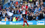 BRIGHTON, ENGLAND - OCTOBER 29: Southampton's Wesley Hoedt during the Premier League match between Brighton and Hove Albion and Southampton at the Amex Stadium on October 29, 2017 in Brighton, England. (Photo by Matt Watson/Southampton FC via Getty Images)