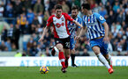 BRIGHTON, ENGLAND - OCTOBER 29: Southampton's Pierre-Emile Hojbjerg during the Premier League match between Brighton and Hove Albion and Southampton at the Amex Stadium on October 29, 2017 in Brighton, England. (Photo by Matt Watson/Southampton FC via Getty Images)