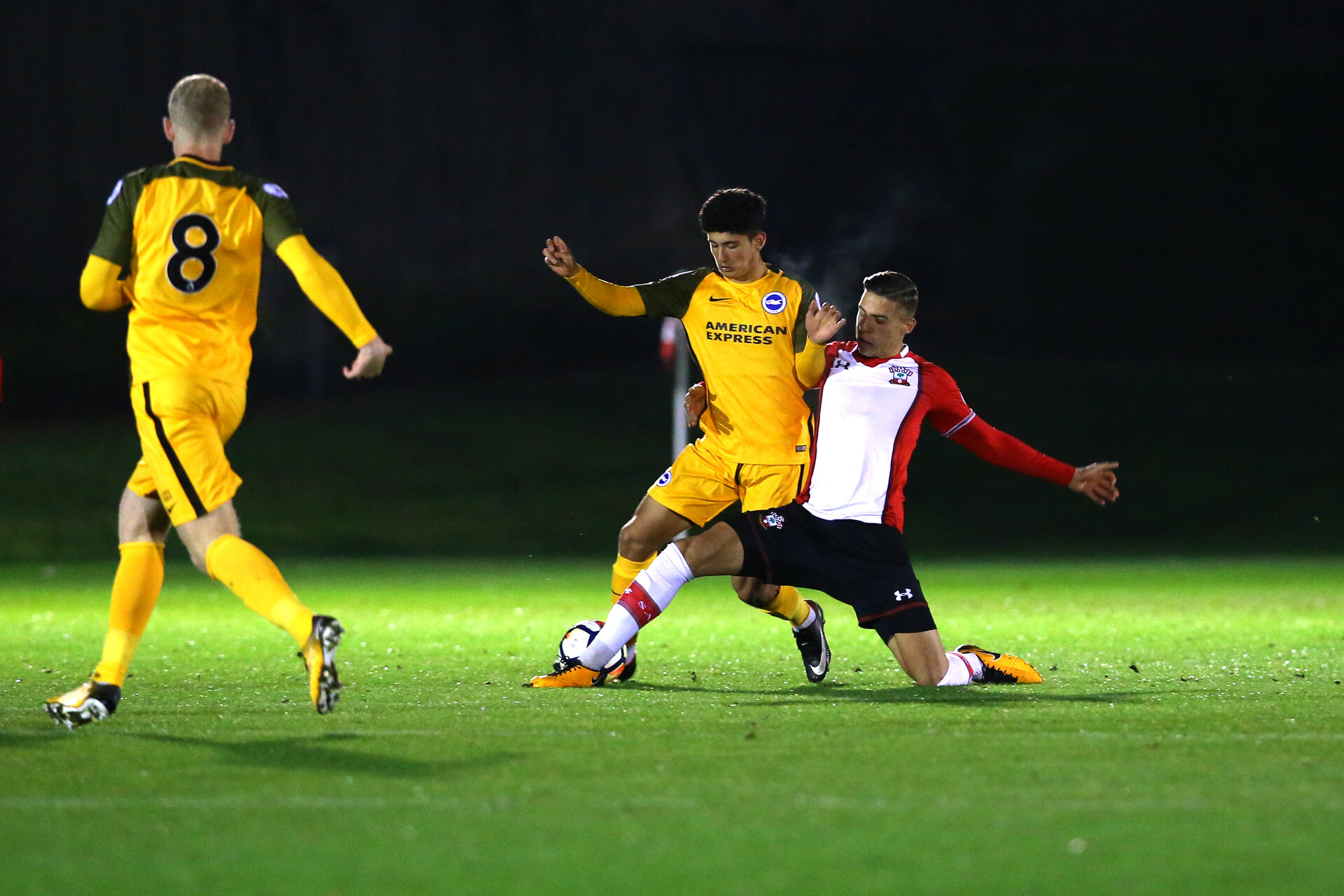 SOUTHAMPTON, ENGLAND - OCTOBER 30: Jan Bednarek during the U23's match between Southampton and Brighton & Hove Albion at Staplewood Campus on October 30, 2017 in Southampton, England. (Photo by James Bridle/Southampton FC via Getty Images)