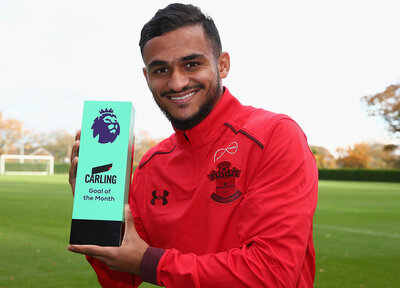 Boufal wins Premier League Goal of the Month
