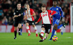 SOUTHAMPTON, ENGLAND - DECEMBER 13: Southampton's Steven Davis during the Premier League match between Southampton and Leicester City at St Mary's Stadium on December 13, 2017 in Southampton, England. (Photo by Matt Watson/Southampton FC via Getty Images)