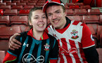 SOUTHAMPTON, ENGLAND - DECEMBER 13: Fans before the Premier League match between Southampton and Leicester City at St Mary's Stadium on December 13, 2017 in Southampton, England. (Photo by Chris Moorhouse/Southampton FC via Getty Images)
