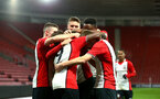SOUTHAMPTON, ENGLAND - DECEMBER 14: Southampton FC Team celebrate during the match between Southampton FC vs Wolverhampton Wanders for the FA U18's Youth Cup on December 14, 2017 in Southampton, England. (Photo by James Bridle - Southampton FC/Southampton FC via Getty Images)