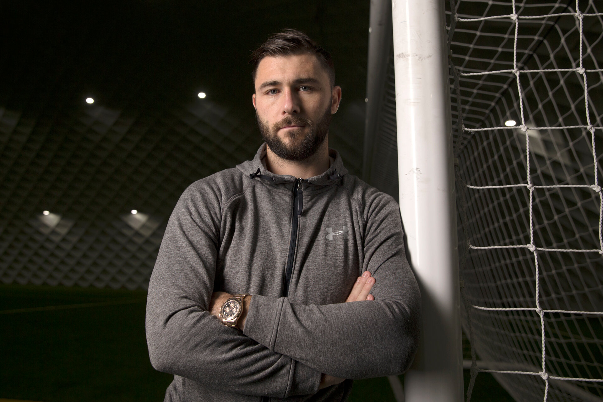 SOUTHAMPTON, ENGLAND - DECEMBER 22: Southampton FC's Charlie Austin pictured for the club's match day magazine, at the Staplewood Campus, on December 20, 2017 in Southampton, England. (Photo by Matt Watson/Southampton FC via Getty Images)