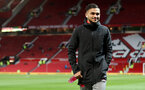 MANCHESTER, ENGLAND - DECEMBER 30: Southampton's Sofiane Boufal ahead of the Premier League match between Manchester United and Southampton at Old Trafford on December 30, 2017 in Manchester, England. (Photo by Matt Watson/Southampton FC via Getty Images)