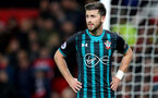 MANCHESTER, ENGLAND - DECEMBER 30: Southampton's Shane Long during the Premier League match between Manchester United and Southampton at Old Trafford on December 30, 2017 in Manchester, England. (Photo by Matt Watson/Southampton FC via Getty Images)