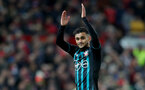 MANCHESTER, ENGLAND - DECEMBER 30: Southampton's Sofiane Boufal during the Premier League match between Manchester United and Southampton at Old Trafford on December 30, 2017 in Manchester, England. (Photo by Matt Watson/Southampton FC via Getty Images)