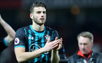 MANCHESTER, ENGLAND - DECEMBER 30: Southampton's Wesley Hoedt during the Premier League match between Manchester United and Southampton at Old Trafford on December 30, 2017 in Manchester, England. (Photo by Matt Watson/Southampton FC via Getty Images)