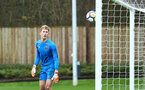 SOUTHAMPTON, ENGLAND - JANUARY 06: Enzo Robise (left) during the PL2 match between Southampton FC and West Ham United FC at Staplewood Complex on January 6, 2018 in Southampton, England. (Photo by James Bridle - Southampton FC/Southampton FC via Getty Images)